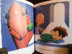 BOY + BOT ** S I G N E D ** by BOTH: Dyckman, Ame (Illustrated by Dan Yaccarino)