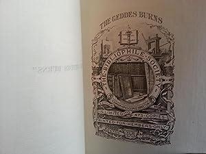 The GEDDES BURNS (in Double slip-case): Burns, Robert