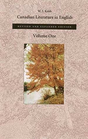 Canadian Literature in English : Volume One