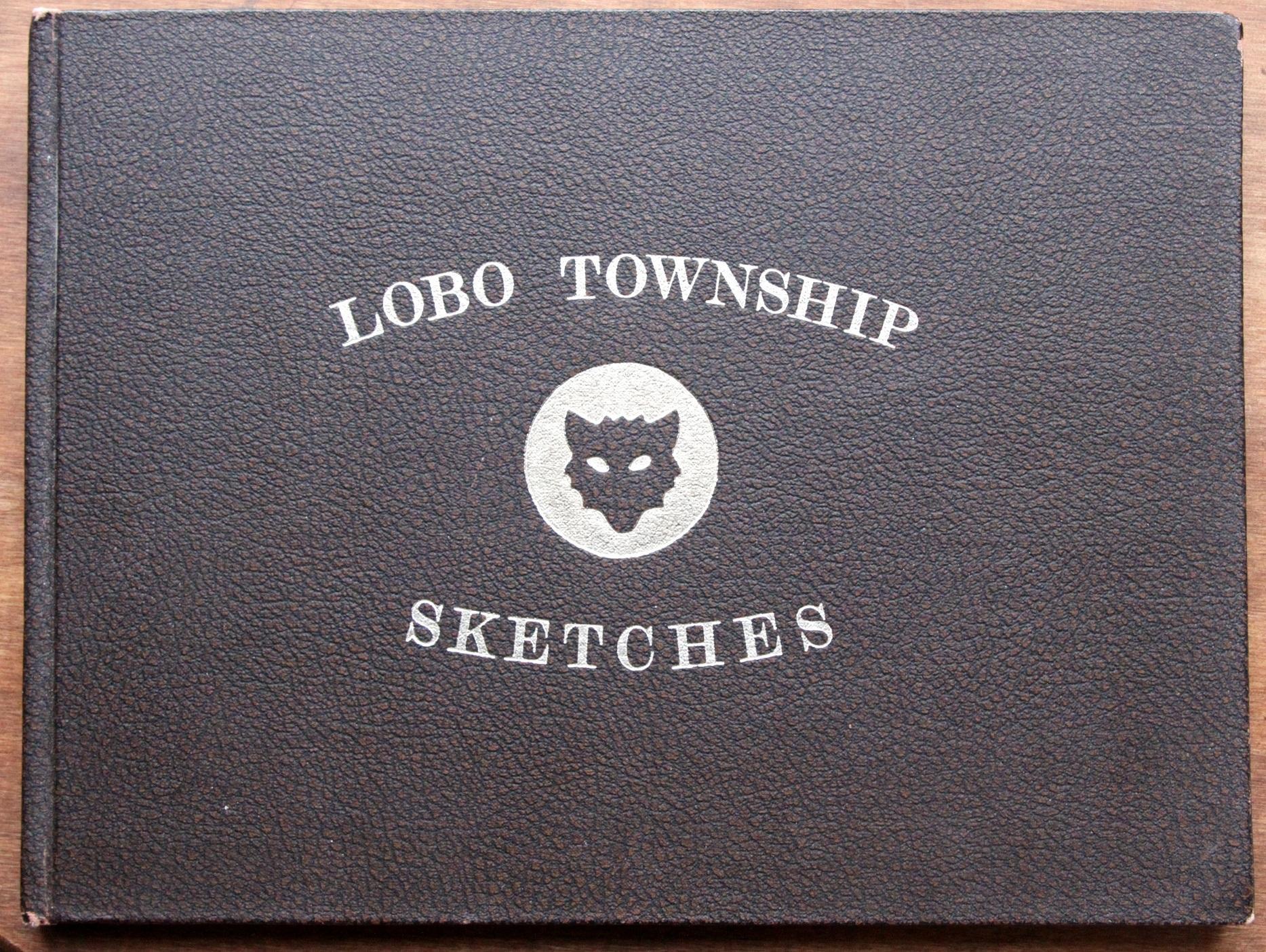 Lobo_Township_Sketches_Davis_Ron_SIGNED_Assez_bon_Couverture_rigide