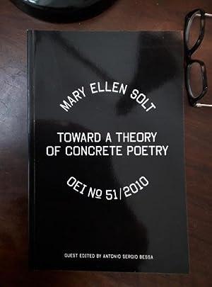 OEI # 51. Mary Ellen Solt. Toward: Solt, Mary Ellen.