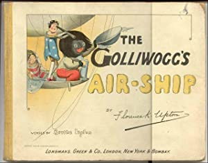 The Golliwogg's Air-Ship: Upton, Bertha; Illustrated