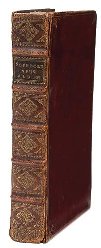 Tragediae Septem cum commentariis. (Edited by Aldus: SOPHOCLES