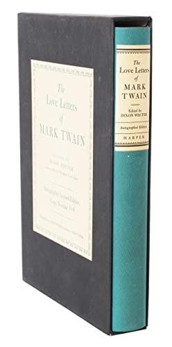 The Love Letters of Mark Twain: TWAIN, MARK.) CLEMENS,