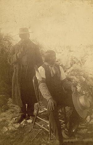 Collection of Ten Photographs from Mooney's Pioneering: MOONEY, JAMES