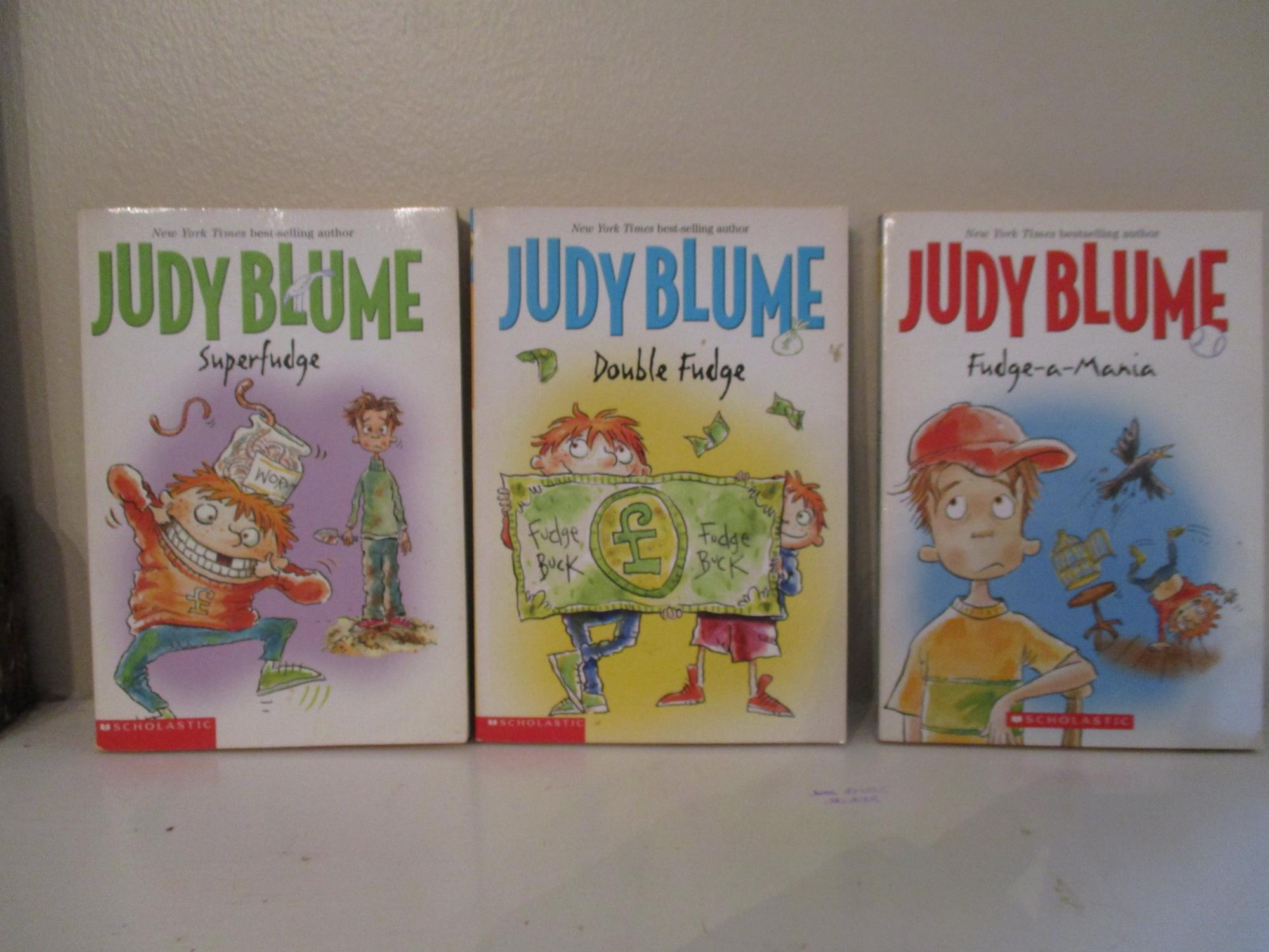 book report on super fudge by judy blume The paperback of the superfudge by judy blume at barnes & noble free shipping on $25 or more.