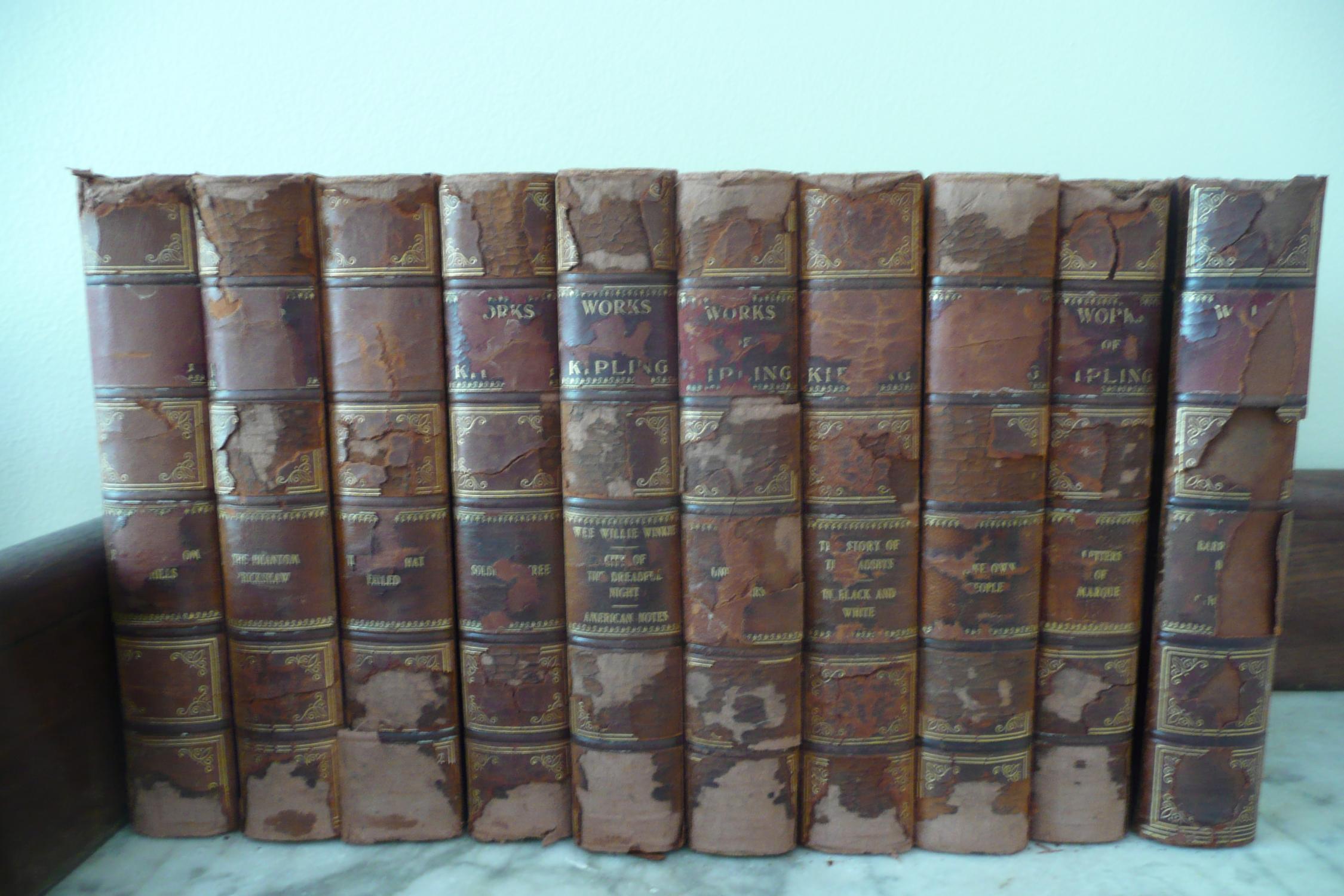 Works of Kipling Kipling, Rudyard [Fair] [Hardcover] (bi_9911676279) photo