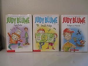 Superfudge; Double Fudge; and Fudge-a-Mania: Blume, Judy