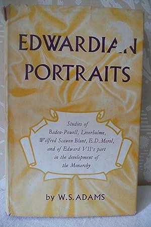 Edwardian Portraits: Adams, W.S.
