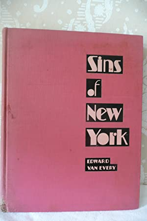 """Sins of New York as """"Exposed"""" by the Police Gazette: Van Every, Edward"""