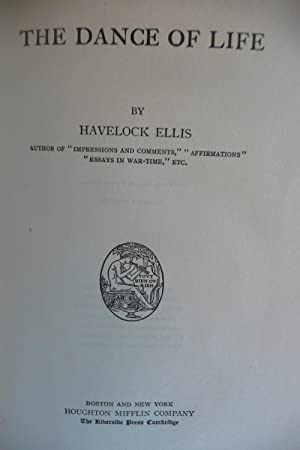 The Dance of Life: Ellis, Havelock