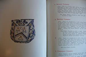 Pottery and Porcelain Bearing the Arms of the Livery Companies of the City of London in the ...