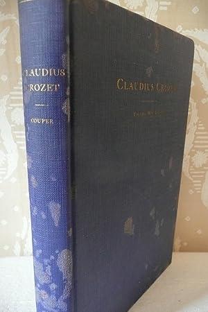 Claudius Crozet Soldier-Scholar-Educator-Engineer: Couper, Colonel William