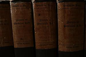 Scenes of Parisian Life, volumes I - XI: Balzac, Honore de