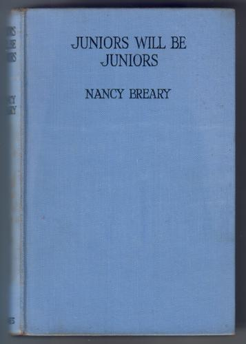 Juniors will be Juniors Breary, Nancy Octavo. Blue cloth-covered boards. Black lettering on covers. 238 pages. The scarcest book in 'Drusilla Cathcart' series. Slight discolouration of spi