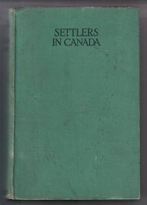 Settlers in Canada: Marryat, Captain