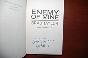 Enemy Of Mine (signed, dated): Taylor, Brad