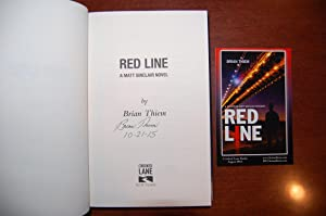 Red Line (signed & dated): Thiem, Brian