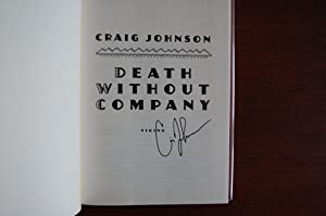 Death Without Company (signed): Johnson, Craig