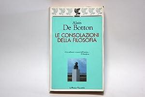 Le consolazioni della filosofia: Botton, Alain de