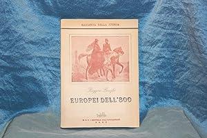 Europei dell'800: Bonghi, Ruggero