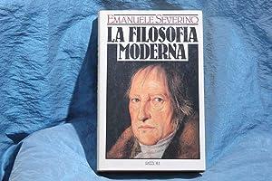 La filosofia moderna: Severino, Emanuele