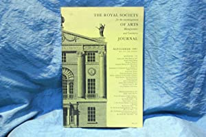 Journal. The Royal Society for the encouragement