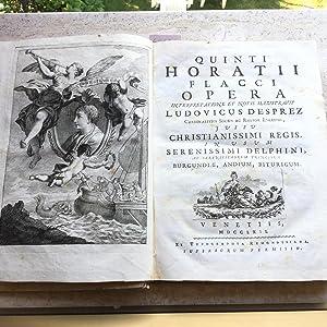 Quinti Horatii Flacci opera. Tomo I: Orazio