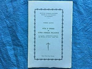 Vita e opere di Luisa Amalia Paladini: Santini, Florio