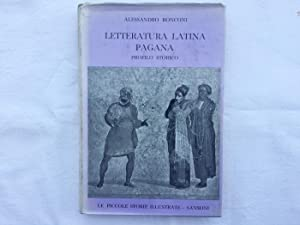Letteratura latina pagana. Profilo storico Sansoni 1957: Ronconi, Alessandro