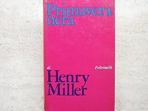 Primavera nera: Miller, Henry