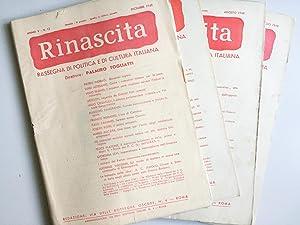 Rinascita (rivista) 1948: Autori Vari