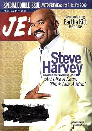 Jet Magazine Steve Harvey, Eartha Kitt (Jan.: Jet Magazine