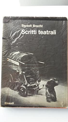 BERTOLT BRECHT SCRITTI TEATRALI EINAUDI 1962: BERTOLT BRECHT
