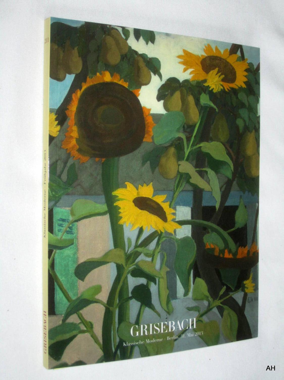 Auktionskatalog Von Grisebach Klassische Moderne Antiquitäten & Kunst Periodika & Kataloge