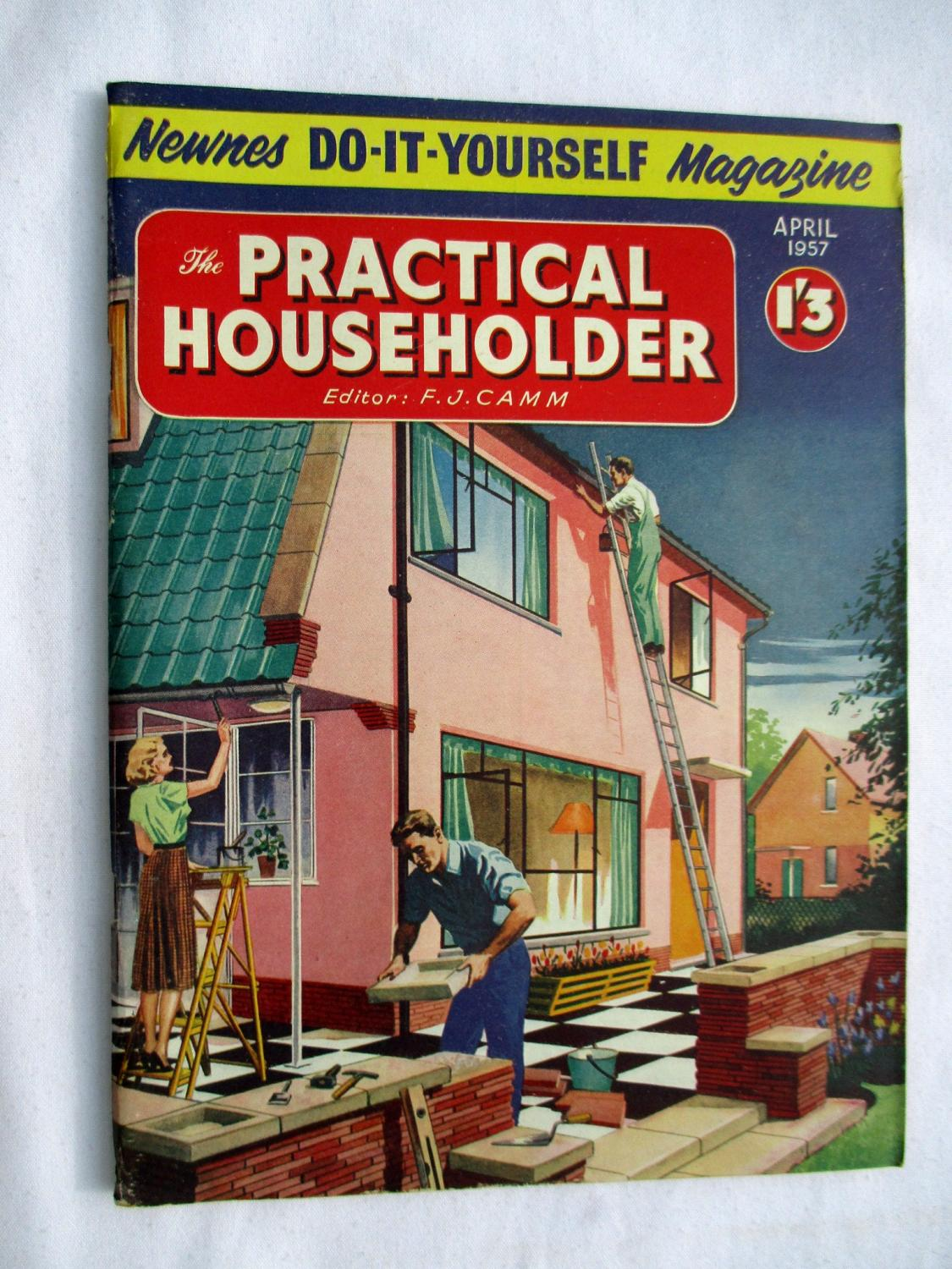 The practical householder april 1957 newnes do it yourself the practical householder april 1957 newnes do it yourself magazine camm solutioingenieria Image collections