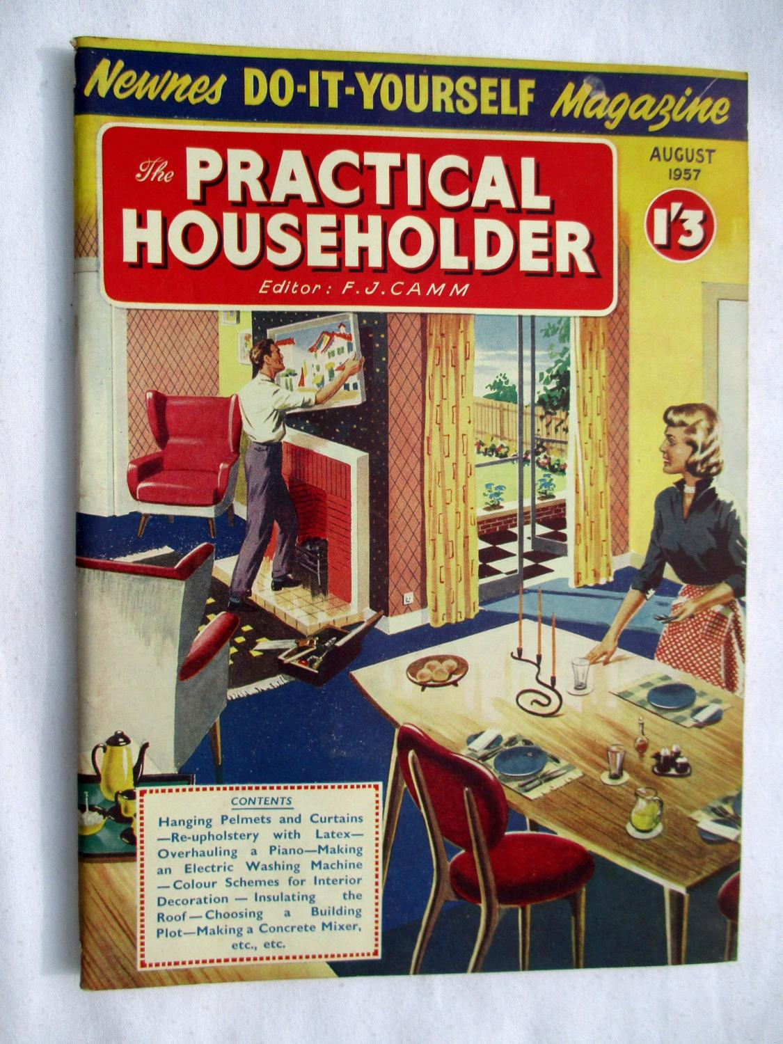 The practical householder august 1957 newnes do it yourself the practical householder august 1957 newnes do it yourself magazine camm solutioingenieria Gallery