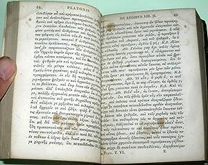 Platonis Opera. Cum Scholiis a Rhunkenio Collectis. Ad Optimorum Librorum Fidem. Accurate Editi. ...