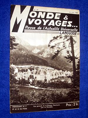 Monde et Voyages. No 60, 15 Juin: Various