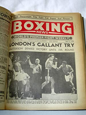 Boxing News, The World's Premier Fight Weekly, 1959 Jan 2 to Dec 25. 50th Year (48 of 52 ...