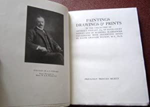 Paintings, Drawings & Prints in the Collection of Arthur F. Stewart, Esq. of Hayes Court Kenley...