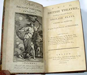 Bell's British Theatre, English Plays, Volume the Seventh, Being Fourth Volume of Tragedies. ...