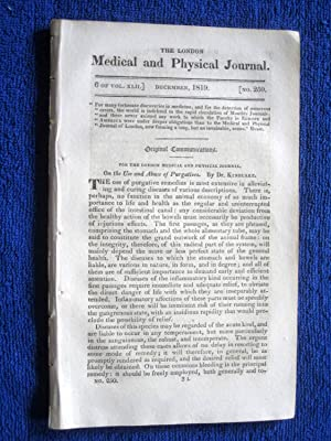 The London Medical and Physical Journal, 1819,: Dr Kinglake, M.