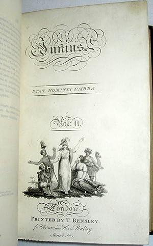Junius. Stat Nominis Umbra. A New Edition: Junius