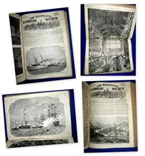 The ILLUSTRATED LONDON NEWS. Volumes 42 & 43. 1863 January to June and July to December. ...