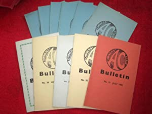 AC Owners Club Bulletin, 1953, Complete run January to December, Nos 36 to 45. ACOC.: AC Owners ...