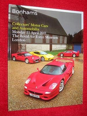 Collectors Motor Cars and Automobilia 11 April: Bonhams