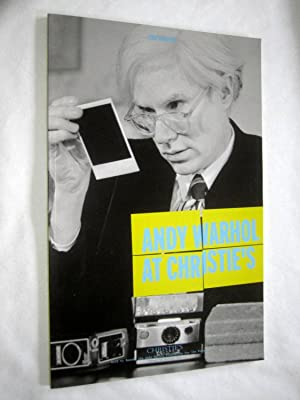Andy Warhol at Christie's: PHOTOGRAPHIC. Christie's New York Auction Catalogue.12 ...