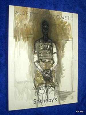 Alberto Giacometti. Impressionist & Modern Art Evening Sale New York, Wednesday 7 May 2008 ...