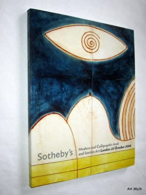 Modern and Calligraphic Arab and Iranian Art.,: Sotheby & Co.